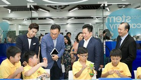 S.hub Kids has been officially launched at the HCMC General Science Library