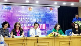 At the press brief about the girl forum 2018  (Photo: SGGP)