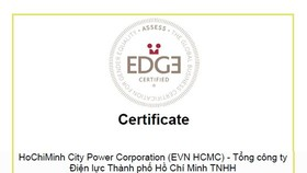 HCMC Power Corporation receives EDGE certification