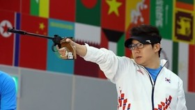 Four-time Olympic shooting champion Jin Jong-oh (Photo: heraldm.com)