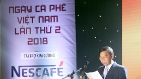 ice Chairman of the provincial People's Committee Truong Thanh Tung speaks at the event (Source: congthuong.vn)