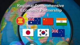 The Regional Comprehensive Economic Partnership (RCEP) is a mega-regional economic agreement being negotiated between ASEAN countries and the six trading partners. (Source: ASEAN.org)