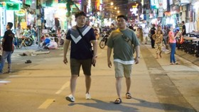 Bui Vien walking street will be put into the operation on August 19