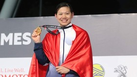 Vietnamese swimmer Anh Vien wins seven gold medals at the 2017 SEA Games.