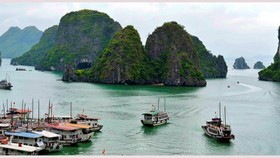 Ha Long Bay - a popular tourist destination in Quang Ninh (Photo: VNA)