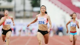 Le Tu Chinh at the 2017 National Track & Field Championships