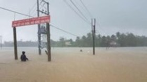 Torrential rains continue covering Quang Nam, Phu Yen and Dak Lak