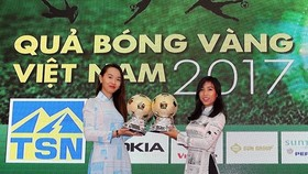 Press conference on Vietnamese Golden Ball Awards 2017