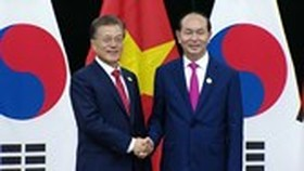 Vietnamese President exchanges congratulatory message with South Korea