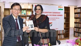 First Vietnam-Ho Chi Minh book room opened in New Delhi