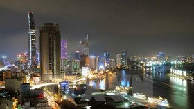 An overview of Ho Chi Minh City (Photo VNA)