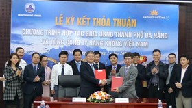 Da Nang and Vietnam Airlines sign tourism cooperation agreement