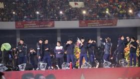 Scene at the ceremony (Photo: VNA)