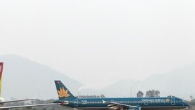 Vietnam Airlines operated more than 6,200 domestic and international flights during the peak of Tet (Lunar New Year), serving nearly 880,000 passengers, a rise of 7.4 percent against the previous year (Photo: VNA)