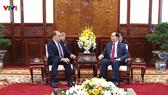 President Tran Dai Quang receives Chilean Ambassador
