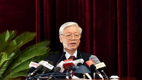 Communist Party Secretary General cum President of Vietnam Nguyen Phu Trong