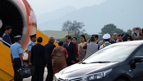 India's President paid a State visit to Vietnam