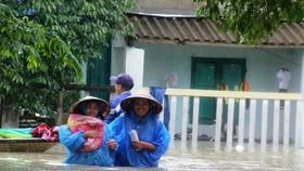 Thiên tai ngập lụt diễn ra hằng năm gây thiệt hại nặng nề