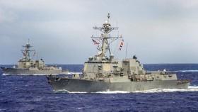 Mỹ điều 2 tàu chiến tới khu vực Thái Bình Dương - Ấn Độ Dương