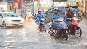 Áp thấp nhiệt đới, mưa lớn khắp cả nước