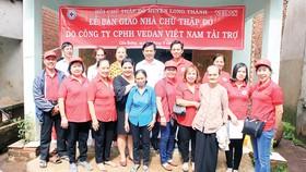 Vedan Việt Nam mang lại mái ấm nghĩa tình cho bà con tỉnh Đồng Nai