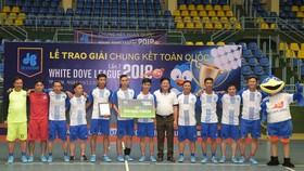 Tiến Phát vô địch Cúp Futsal White Dove League lần 7 - 2018 toàn quốc