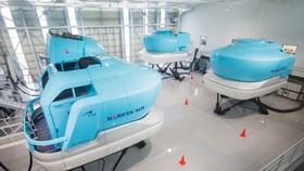 Bên trong khu đào tạo bay của Korean Air  