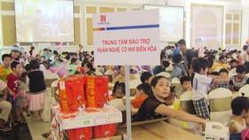 Tổng Công ty Tín Nghĩa trao quà cho các em thiếu nhi mồ côi, khuyết tật