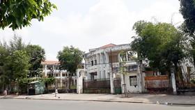 Một ngôi trường bị bỏ hoang, lãng phí