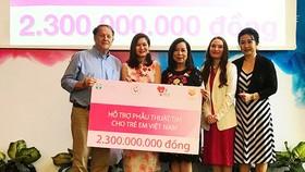 2,3 tỷ đồng giúp trẻ em phẫu thuật tim