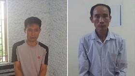 涉案2名嫌犯與物證。(圖源:法律維護報)