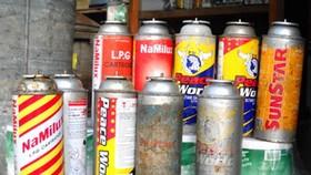 使用重複灌注小型瓦斯罐食肆將受罰。(示意圖源:互聯網)
