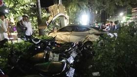 該起嚴重交通事故現場。