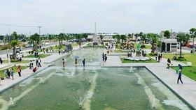 公園面積約1公頃,座落在隆安省德和縣美行鄉富生吉祥居民區內。