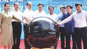 諒山省與中國廣西省代表啟動旅遊線。