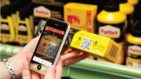 掃描產品的QR碼可查詢到產品及生產者資訊。