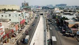 22 號國道上的交通樞紐隧道。