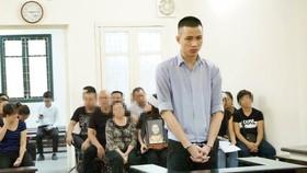 出庭受審的被告人范清松。(圖源:進源)
