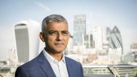英國倫敦市長沙迪克‧汗。(圖源:互聯網)