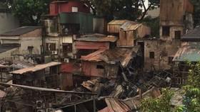 火警蔓延導致約10個民戶遭到損失。(圖源:VOV)