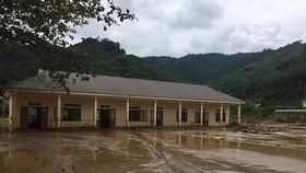 安靖民族半日托初中學校校舍遭嚴重損壞。