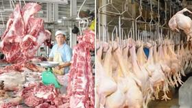 雞豬肉售價上漲。(示意圖源:互聯網)