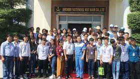 清平華文中心師生參訪安托公司。