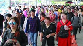2017年,來越的中國遊客達400萬人次,佔全國的國際遊客總量1300萬人次約三成。(示意圖源:互聯網)