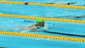 游泳運動員阮誠忠為越南隊奪得首枚金牌。