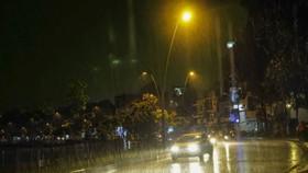 國家水文氣象中心預報:南部本週末傍晚出現強降雨。(示意圖源:互聯網)