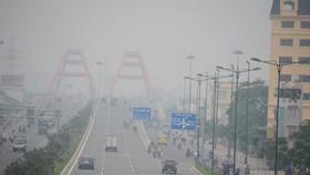 本市的空氣品質指數(AQI)在一天內,近27%時間超過100份額,屬重度及以上污染級別。(圖源:互聯網)