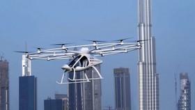 無人駕駛空中出租車明年在新加坡試飛。(圖源:互聯網)