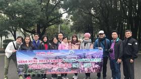 越南旅行社考察武漢-重慶旅程活動一瞥。