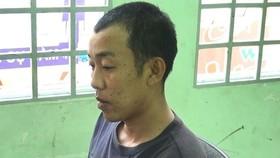 被扣押的殺人嫌犯阮友俊。(圖源:武匯)